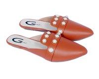 Ladies Slip On Mule Loafers
