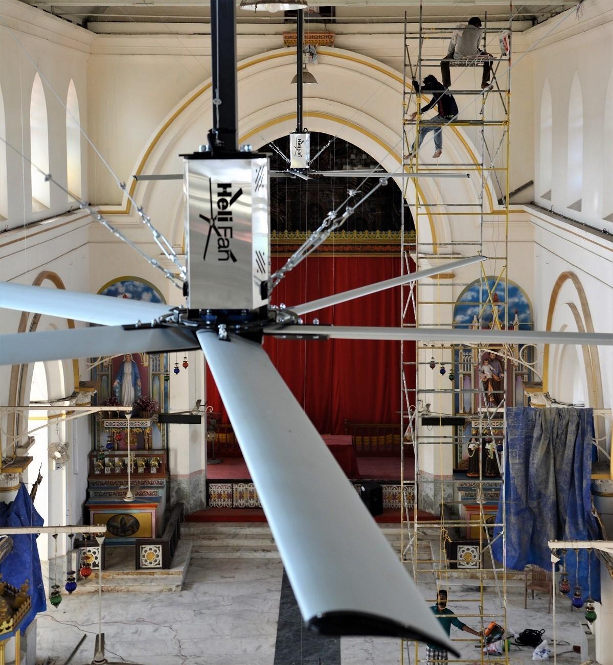 Helifan Of 8 Feet Diameter To 24 Feet NORD Motor