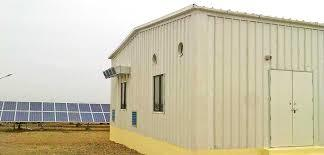 Prefabricated Inverter Control Room Cabin