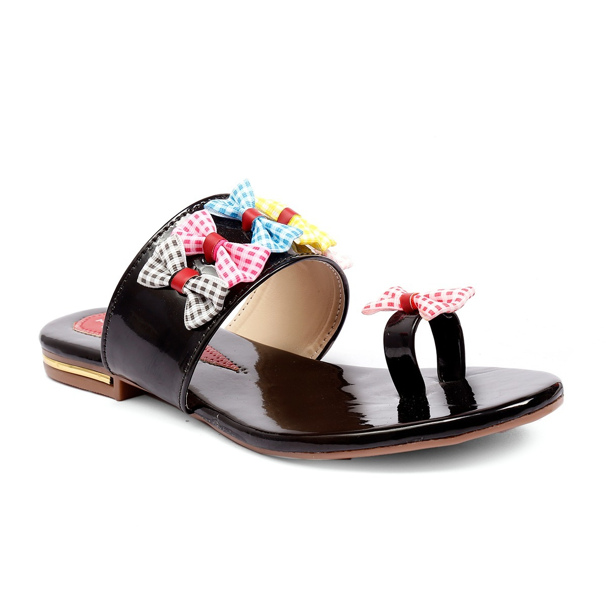 Synthetic Flat Sandals