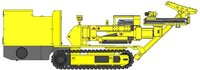 CMM2-22 Low Weight Hydraulic Rock Bolting Jumbo for coal mine