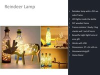 Reindeer Decorative Lamp