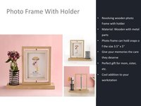 Photo Frame with Holder