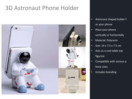3D Astronaut Phone Holder