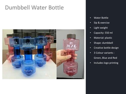 Dumbbell Water Bottle
