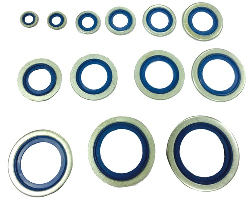 Self Centering Bonded Seals