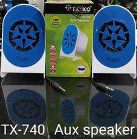 TX-740 AUX SPEAKER BLUETOOTH