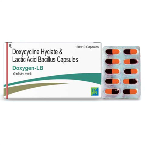 Doxycycline Hyclate And Lactic Acid Bacillus Capsules
