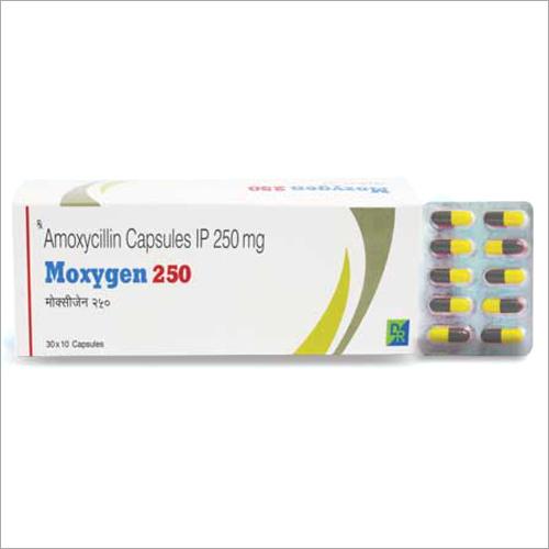250 mg Amoxicillin Capsules IP