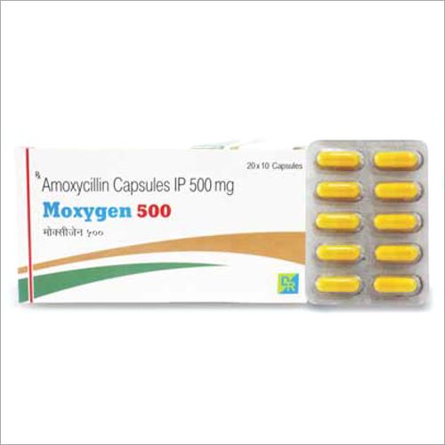 500 mg Amoxicillin Capsules IP