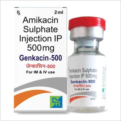500 mg Amikacin Sulphate Injection IP