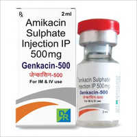 500 mg Amikacin Sulphate Injection IP