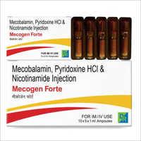 MECOBLAMINE PYRIDOXINE HCI & NICOTINAMIDE INJECTION