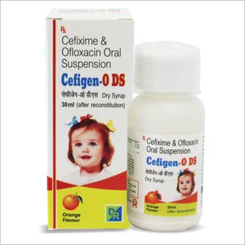Cefixime And Ofloxacin Oral Suspension