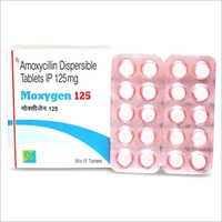125 mg Amoxicillin Dispersible Tablets IP