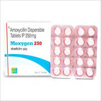 250 mg Amoxicillin Dispersible Tablets IP