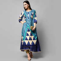Fancy Printed Ladies Kurta