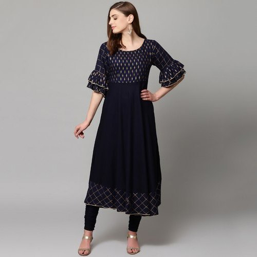 Black Ladies Kurti set