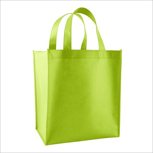 Loop Handle Non Woven Plain Box Bag