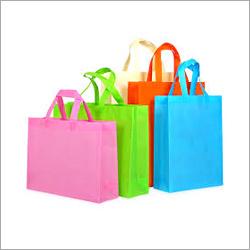 Plain Shopping Loop Handle Non Woven Bag