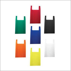 Multi Color U Cut Non Woven Bag