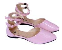 Ladies Mule Loafer Flat Shoe