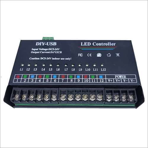 12 Channel RGB LED Controller