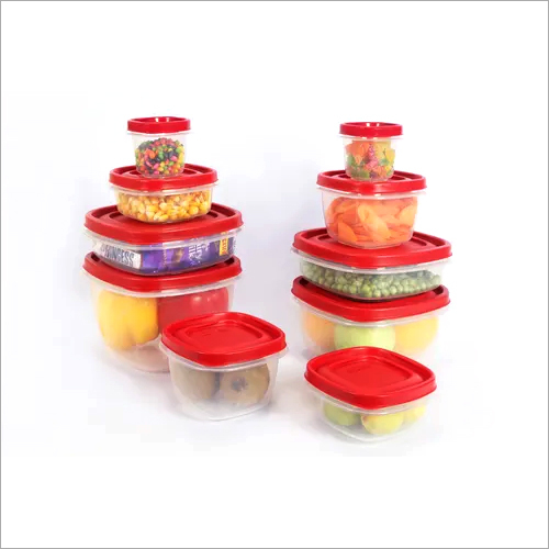 Plastic Container Set of 10pcs