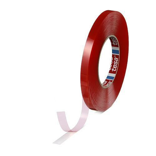 Tesa Double Side Transparent Red Filmic Tape