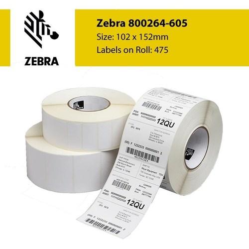 Zebra Label