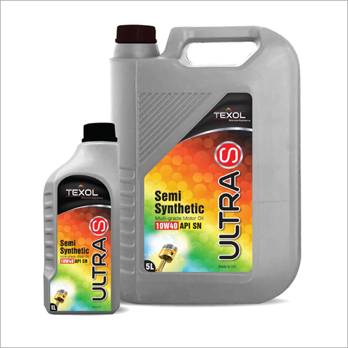 Ultra S API SN 10W40 Semi Synthetic Multi Grade Motor Oil