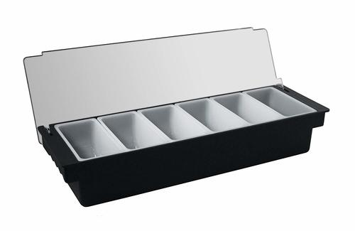 Condiment holder (Garnish Tray) 6 comp