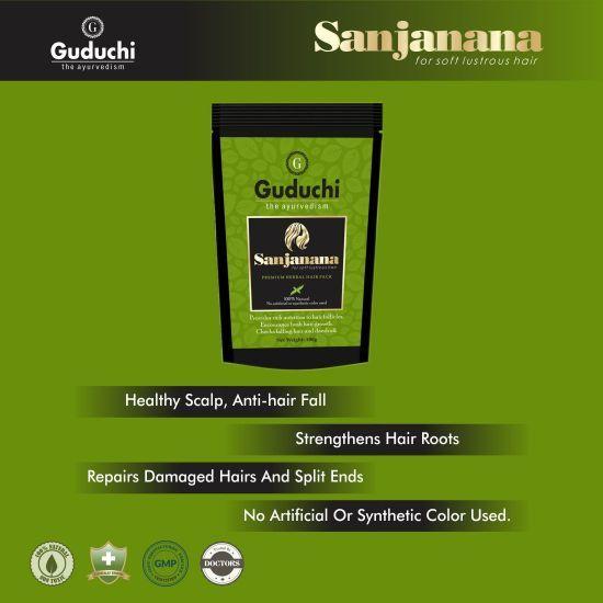 Sanjanana - Split End Hair Pack