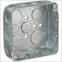 Square Electric Metal Box
