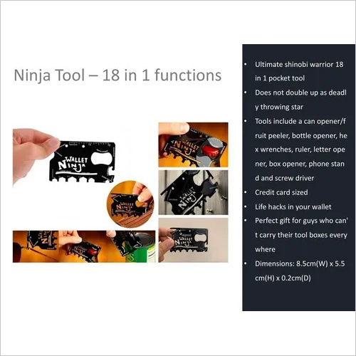 Ninja Tools -18 in 1 Functions