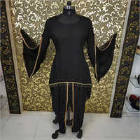 Ladies Black Kedia Dress
