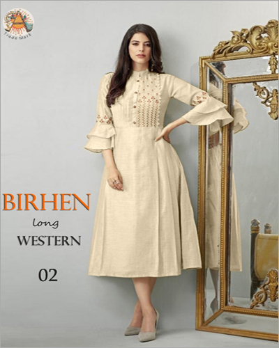 Ladies Birhen Long Western Kurti