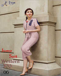 Ladies Western Jump Suit