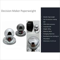 Decision Maker Spinner Metallic For Office Desk