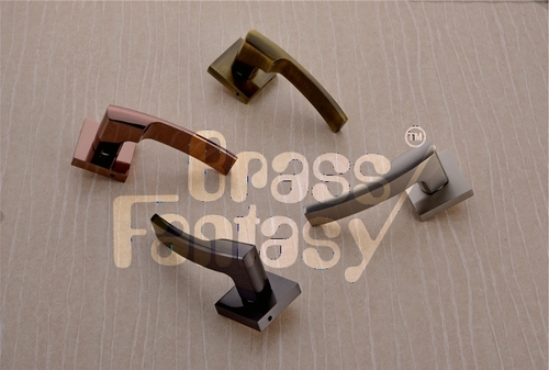 Brass Mortice Handle - ACCENT