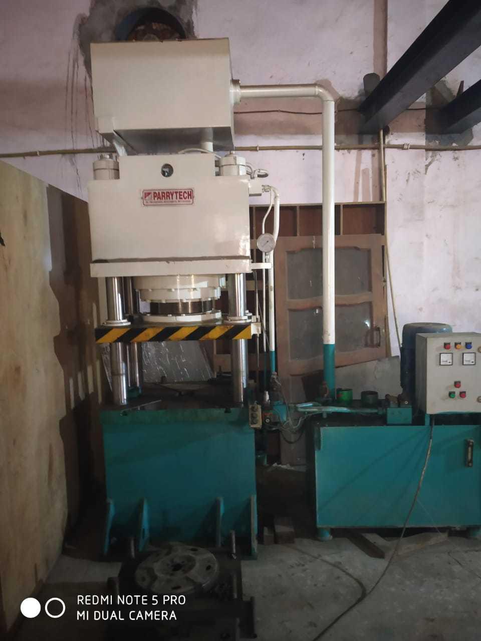 Hydraulic Friction Press for cutlery