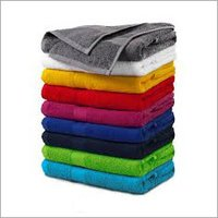 Solid Color Terry Bath Towel