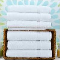 White Terry Towel