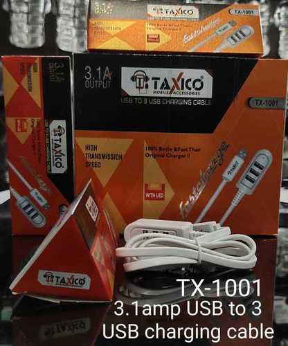 TX-1001 3.1A OUTPUT  USB CABLE HUB