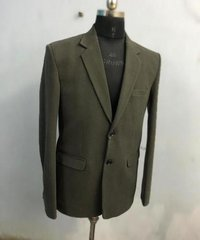Mens Plain Formal Blazer