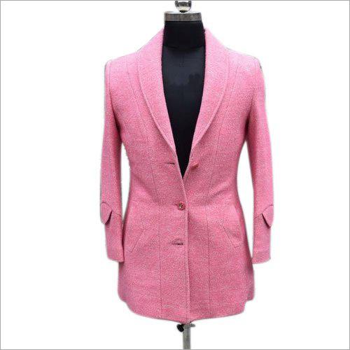 Pink Ladies Long Blazer