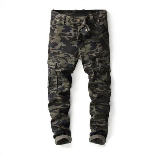 Printed Cargo Pant