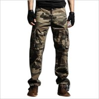 Mens Camouflage Cargo Pant