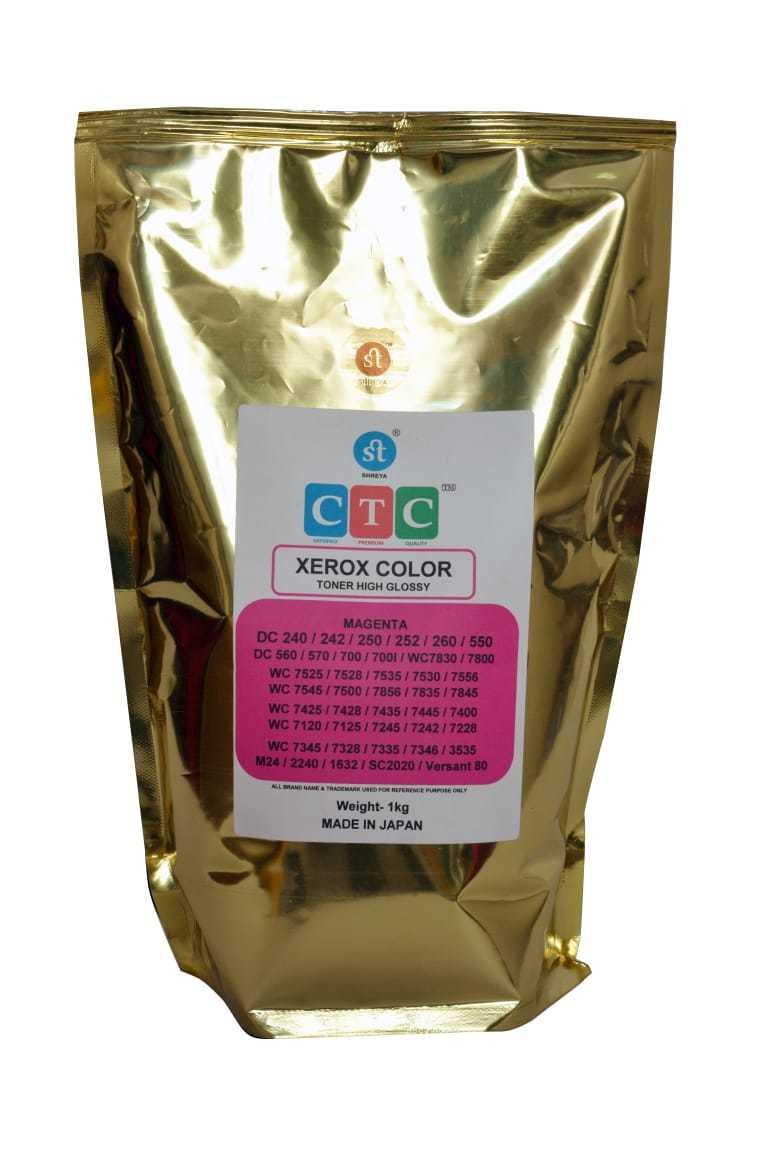 CTC Xerox Color Toner Powder HIGH GLOSSY DC250 252 550 560