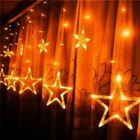 Star Curtain Lights